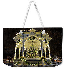 Holiday Lights - Gazebo Weekender Tote Bag