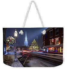 Holiday Magic, Market Square Weekender Tote Bag