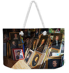 Weekender Tote Bag featuring the photograph Home Of Lost Portraits by Craig J Satterlee