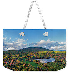 Weekender Tote Bag featuring the photograph Home Of My Youth  by Michael Hughes