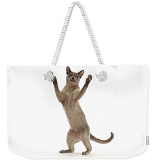 Weekender Tote Bag featuring the photograph Hooray For The Weekend by Warren Photographic