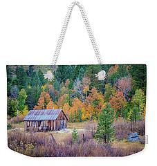 Hope Valley Cabin Weekender Tote Bag