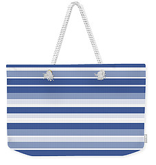 Horizontal Lines Background - Dde607 Weekender Tote Bag