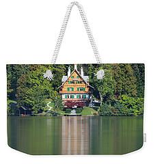 House On The Lake Weekender Tote Bag