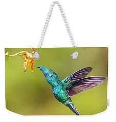 Humhum Bird Weekender Tote Bag