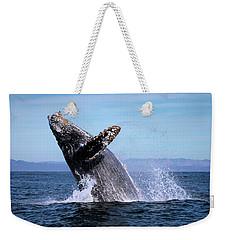 Humpback Breaching - 01 Weekender Tote Bag