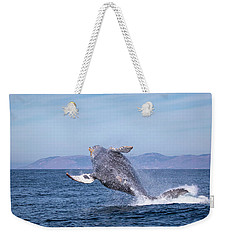 Humpback Breaching - 03 Weekender Tote Bag