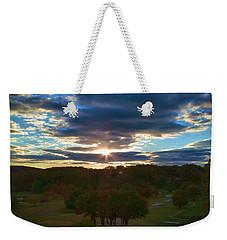 Hunt Valley Sunset Weekender Tote Bag