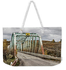 Weekender Tote Bag featuring the photograph Hwy 552 Bridge by Brad Allen Fine Art