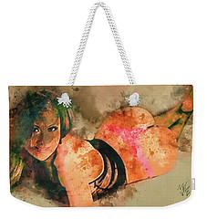 I C U Weekender Tote Bag