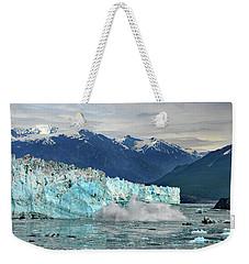 Iceberg Splash Hubbard Glacier Weekender Tote Bag