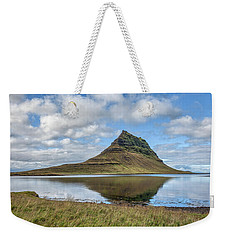 Iceland Mountain Weekender Tote Bag