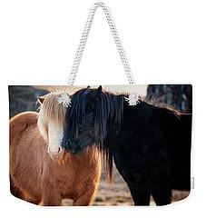 Icelandic Horse Love Weekender Tote Bag