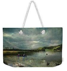 Idyllic Swans Lake Weekender Tote Bag
