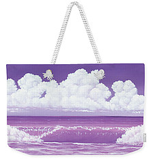 If The Sky Was Purple Weekender Tote Bag