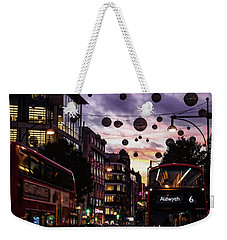 Weekender Tote Bag featuring the photograph Illuminated by Melissa Lane