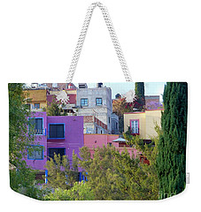 Weekender Tote Bag featuring the photograph Imagine This by Rosanne Licciardi
