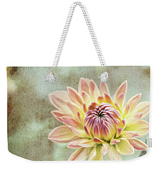 Weekender Tote Bag featuring the photograph Impression Flower by Jessica Manelis