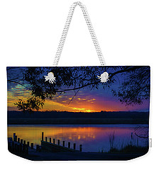 Weekender Tote Bag featuring the photograph In The Blink Of An Eye by Cindy Lark Hartman