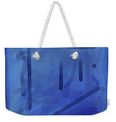 In The Blue Mist Weekender Tote Bag