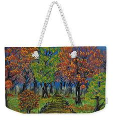 In The Fall Weekender Tote Bag