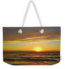 Weekender Tote Bag featuring the photograph Incredible Sunrise Over The Atlantic Ocean by Lynn Bauer
