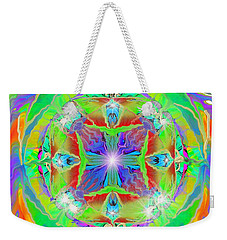 Indian Mandala Weekender Tote Bag