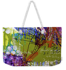 Inner Faith Weekender Tote Bag