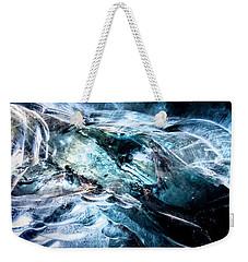Inside The Glacier Weekender Tote Bag