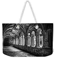 Interior Corridors Of The Monastery Of Santo Estevo De Ribas Del Sil Weekender Tote Bag