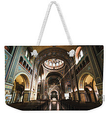 Interior Of The Votive Cathedral, Szeged, Hungary Weekender Tote Bag