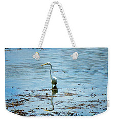 Intermediate Egret At Lake Pat 2 Weekender Tote Bag