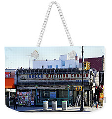 Weekender Tote Bag featuring the photograph Inwood Nutrition Center by Cole Thompson