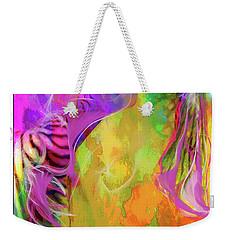 Iris Psychedelic  Weekender Tote Bag