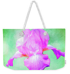 Iris Ready To Fly Weekender Tote Bag