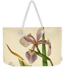Iris Versicolor Blue Flag Weekender Tote Bag