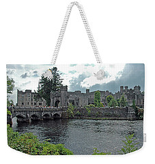 Weekender Tote Bag featuring the photograph Irish Castle by Mark Duehmig