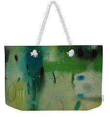 Weekender Tote Bag featuring the drawing Irish Rain by Camille Rendal
