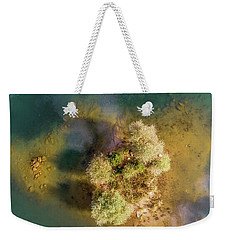 Weekender Tote Bag featuring the photograph Island by Okan YILMAZ