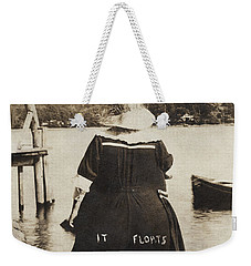 It Floats - Version 1 Weekender Tote Bag