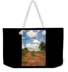It'll Do Ranch Entrance Weekender Tote Bag