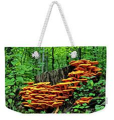 Jack O' Lantern Forest Weekender Tote Bag