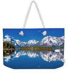 Jackson Lake Weekender Tote Bag