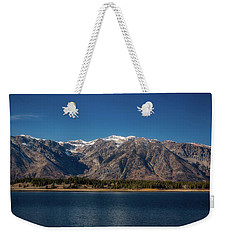Weekender Tote Bag featuring the photograph Jackson Lake Wyoming by Pete Federico