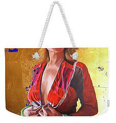 Jade Lady  Life On The Edge Weekender Tote Bag