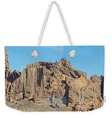Jagged Rocks Weekender Tote Bag