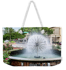 James Brown Blvd Fountain - Augusta Ga Weekender Tote Bag
