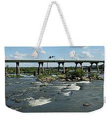 James River Rapids Weekender Tote Bag