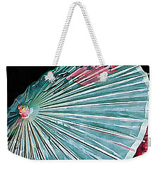 Weekender Tote Bag featuring the photograph Japanese Parasol Study 2 by Dorothy Berry-Lound