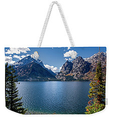 Weekender Tote Bag featuring the photograph Jenny Lake by Scott Read
